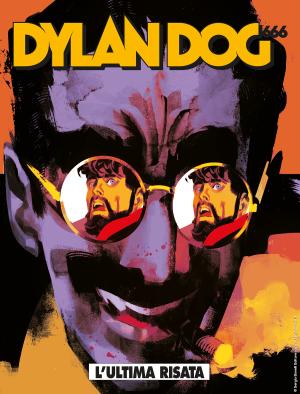 L'ultima risata - Dylan Dog 406 cover